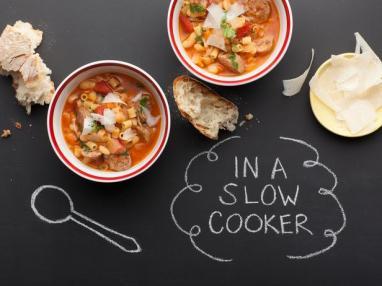 food-network_crockpot-sausage-bean-stew