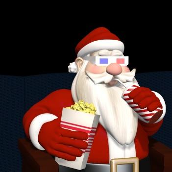 Santa Cinema 3D