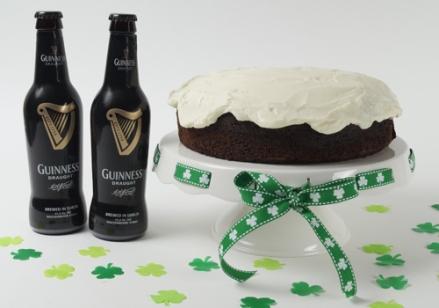 GuinnessBeerCakeOnPlatter