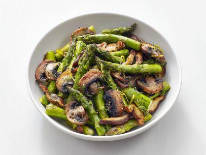 dill mushroom asparagus