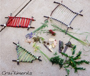 nature weaving craft 5