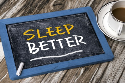sleep better concept