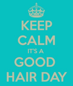 keep calm hair