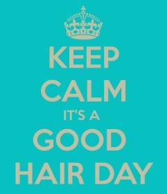 keep calm hair