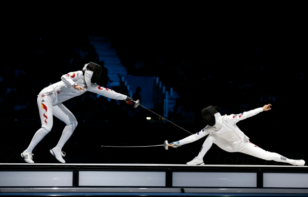 Women's Team Epee - London 2012