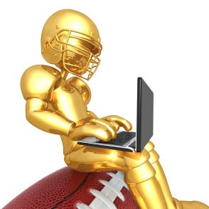 Gold Guy Fantasy Football Player
