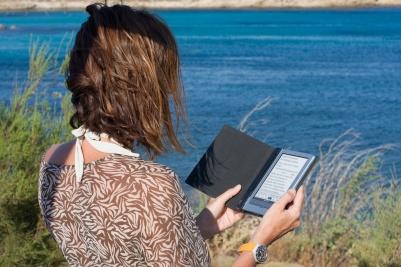 Letture al mare con l'e-book